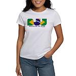 Brazilian flag colours BJJ Women's T-Shirt
