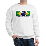 Brazilian flag colours BJJ Sweatshirt