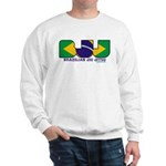Brazilian flag colours BJJ Sweatshirt