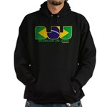 Brazilian flag colours BJJ Hoodie (dark)