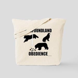 Newfoundland Utility Exercises Tote Bag