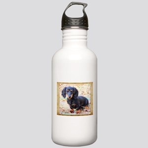 Puppy Love Doxie Stainless Water Bottle 1.0L