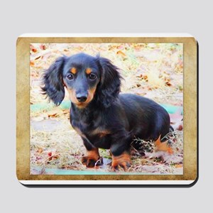 Puppy Love Doxie Mousepad