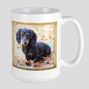 Puppy Love Doxie Large Mug
