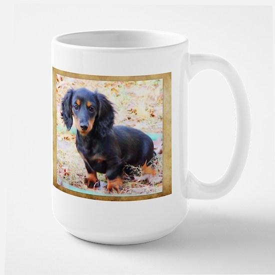 Puppy Love Doxie Large Mug