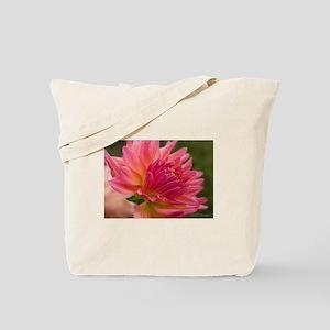 Dahlia Bloom Tote Bag