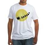 Santa Fitted T-Shirt