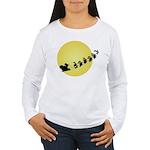 Santa Women's Long Sleeve T-Shirt