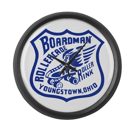 Boardman Rollercade Large Wall Clock