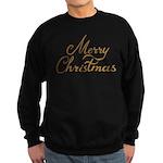 Merry Christmas Sweatshirt (dark)