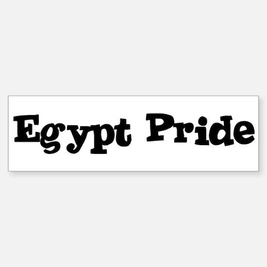 Egypt Pride Bumper Bumper Bumper Sticker