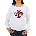 Submit Jiu Jitsu Women's Long Sleeve T-Shirt