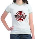 Submit Jiu Jitsu Jr. Ringer T-Shirt