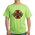 Submit Jiu Jitsu Green T-Shirt