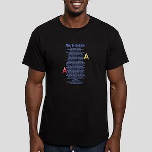 Ode To Trekkie Men's Fitted T-Shirt (dark)
