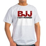 I Got Hooked BJJ Light T-Shirt