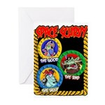 Space Scurvy Greeting Cards (Pk of 20)