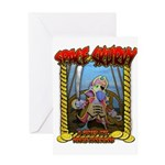 Space Scurvy Greeting Card