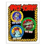Space Scurvy Small Poster