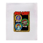 Space Scurvy Throw Blanket