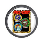 Space Scurvy Wall Clock