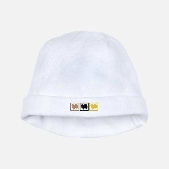 American Eskimo Dog baby hat