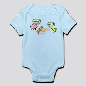 Bacon And Eggs Nightmare Infant Bodysuit