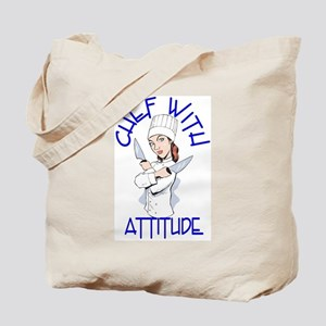 Lady Chef Tote Bag