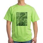 Singing to Van Gogh in Green Green T-Shirt