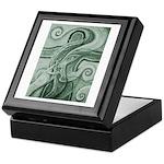 Singing to Van Gogh in Green Keepsake Box