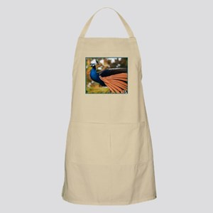 Peacock Feathers  BBQ Apron
