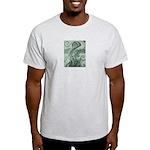 Singing to Van Gogh in Green Light T-Shirt