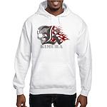 Kimura jiu jitsu Hooded Sweatshirt