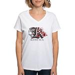 Kimura jiu jitsu Women's V-Neck T-Shirt