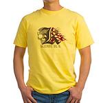Kimura jiu jitsu Yellow T-Shirt