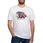 Kimura jiu jitsu Fitted T-Shirt