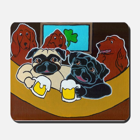 St. Puggy's Day Mousepad