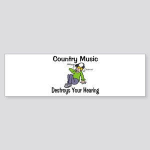 Country Music Sticker (Bumper)