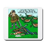 Dick Cheney Shooting Accident Mousepad
