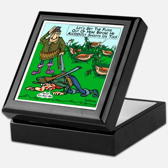 Dick Cheney Shooting Accident Keepsake Box