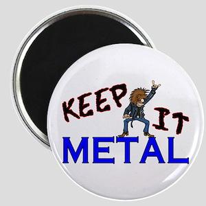 Keep It Metal Magnet