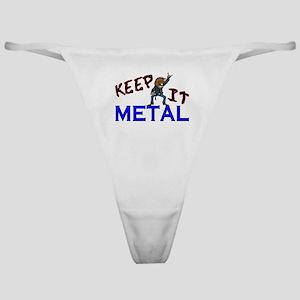 Keep It Metal Classic Thong