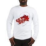 Get Down Jiu Jitsu skull Long Sleeve T-Shirt