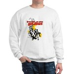 Get Down BJJ cross design Sweatshirt