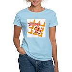 Get Down (squares design) Women's Light T-Shirt
