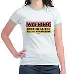 Choking Hazard Jr. Ringer T-Shirt