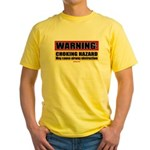 Choking Hazard Yellow T-Shirt
