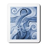 Singing the Van Gogh Blues Mousepad