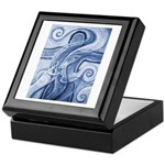 Singing the Van Gogh Blues Keepsake Box
