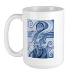 Singing the Van Gogh Blues Large Mug